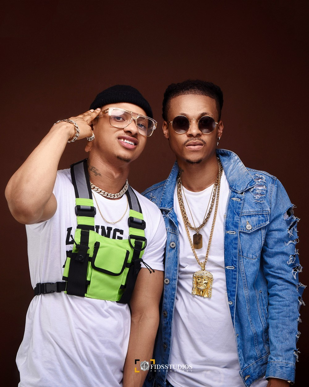 African duo The Savage Brothers dazzle in new stunning photos