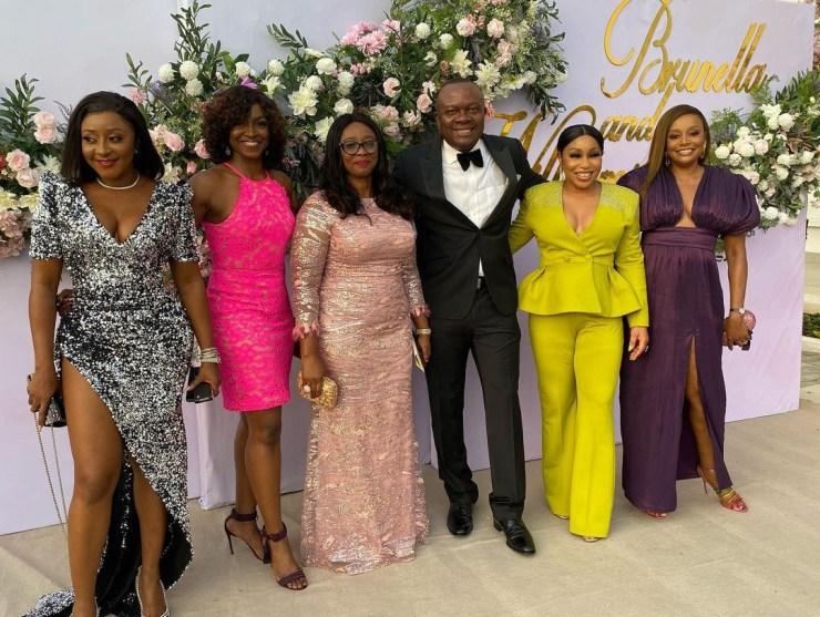 Rita Dominic, Kate Henshaw, Ini Edo, Chika Ike, many others at Williams Uchemba