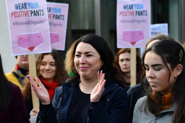 Scotland becomes first country in the world to provide free sanitary  products for all
