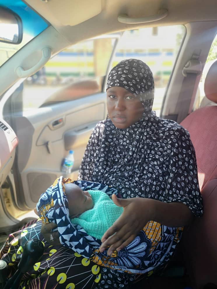 Couple arrested for stealing three-day old baby in Kaduna (photos)