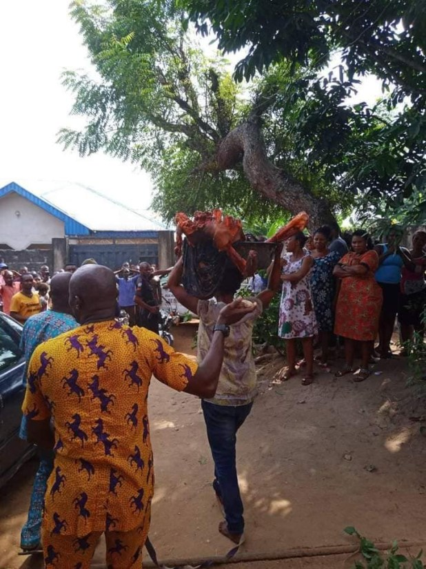 """Update: """"We suspect woman who butchered her mother to pieces is not of sound mind"""" - Akwa Ibom Police"""