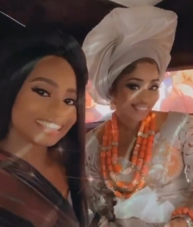 Malivelihood gifts his wife Deola Smart a Porsche Cayenne at their traditional wedding (photos/Video)