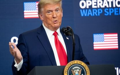 Trump calls on Supreme Court to ?have the courage? to overturn Biden?s election victory
