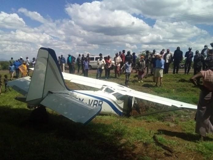 Plane crashes in Isiolo, Kenya (photos)