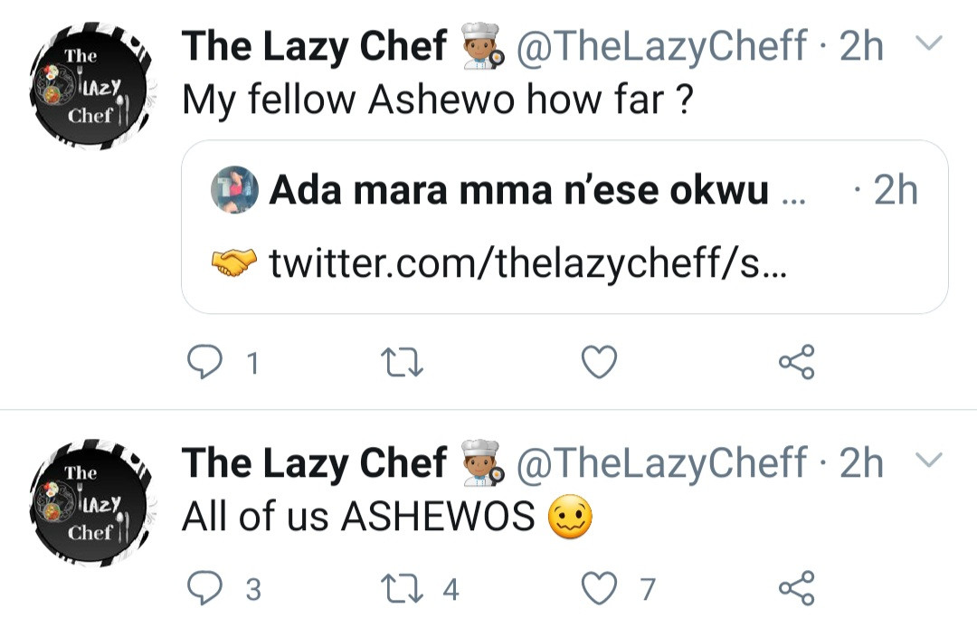 Lagos married women are stingy, Abuja married women will lodge you in hotel - Chef complains on Twitter