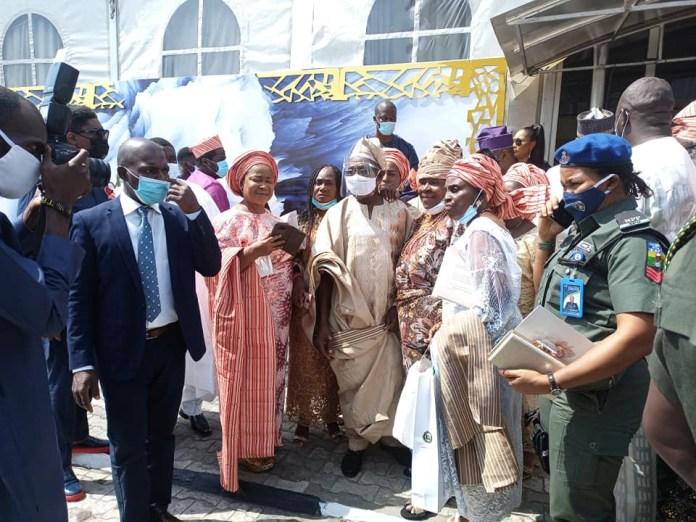 Photos from the wedding of ex-President Olusegun Obasanjo