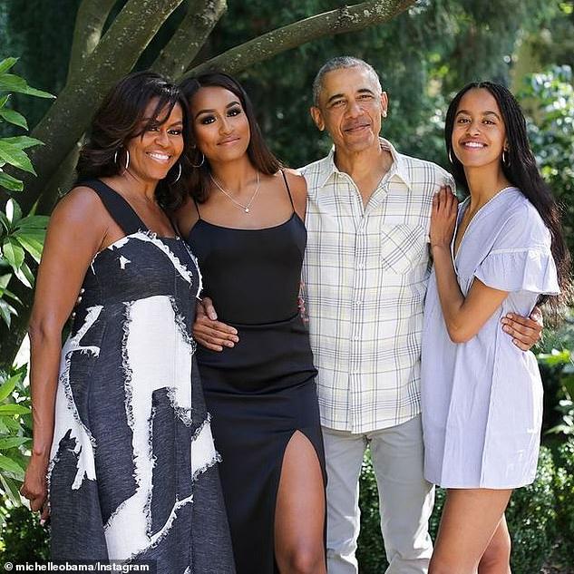 Malia Obama Rory Farquharson