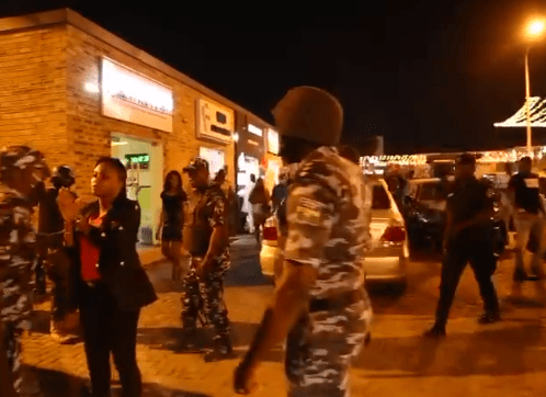 Lagos state government seal off Cubana night club for operating despite ban on night clubs due to COVID19 (photos/videos)