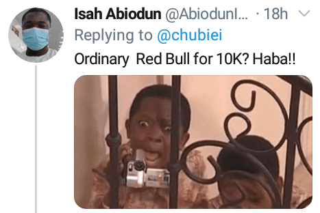 """""""I should drink two fairly used Lexus jeeps?"""" - Nigerians on Twitter react to a drink menu with outrageous prices"""