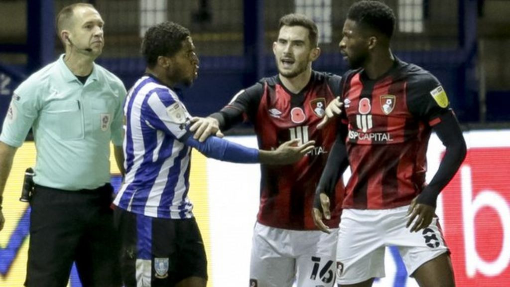 Bournemouth midfielder, Jefferson Lerma charged with violent conduct for biting Sheffield Wednesday player