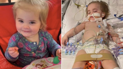 Girl, 1, dies after swallowing remote control battery that generated electricity inside her
