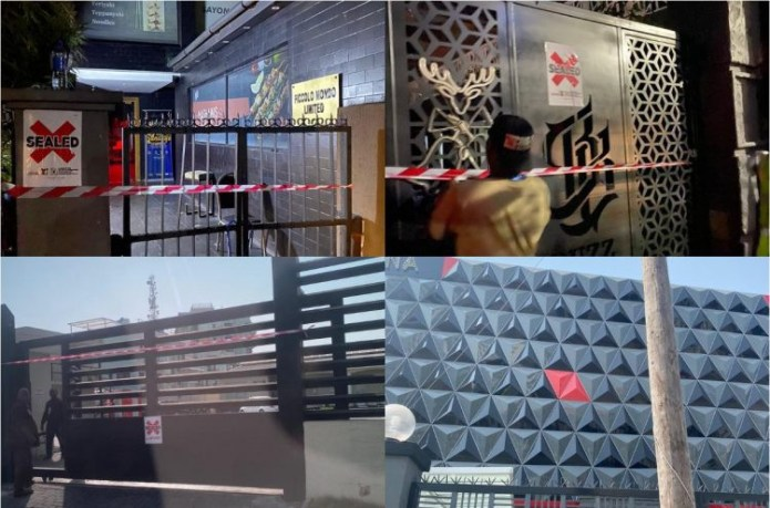 Lagos state government shut Landmark Event Centre and 11 others for violating COVID19 protocols