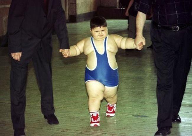 Russian sumo wrestler dubbed the