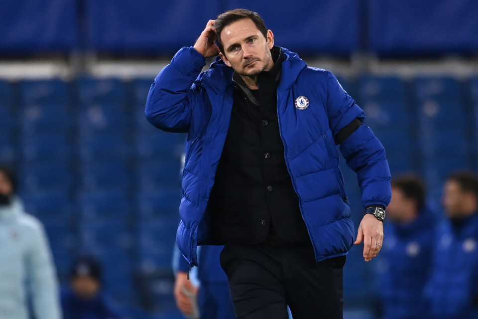 Frank Lampard reacts to claims Chelsea job is under ?serious threat? with statistics showing he is the club