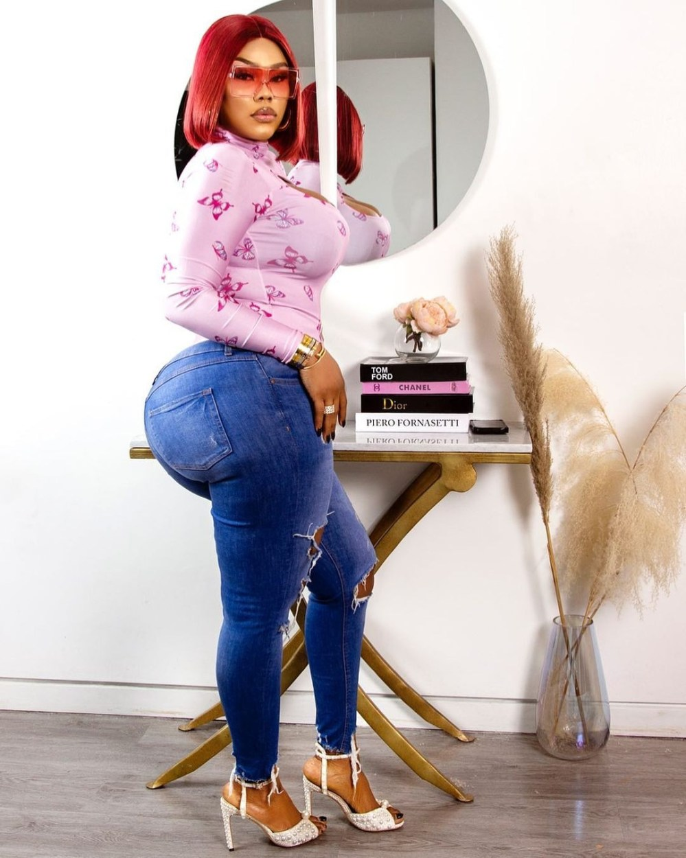Actress Daniella Okeke shares hot new photo to wish her fans a Happy New year