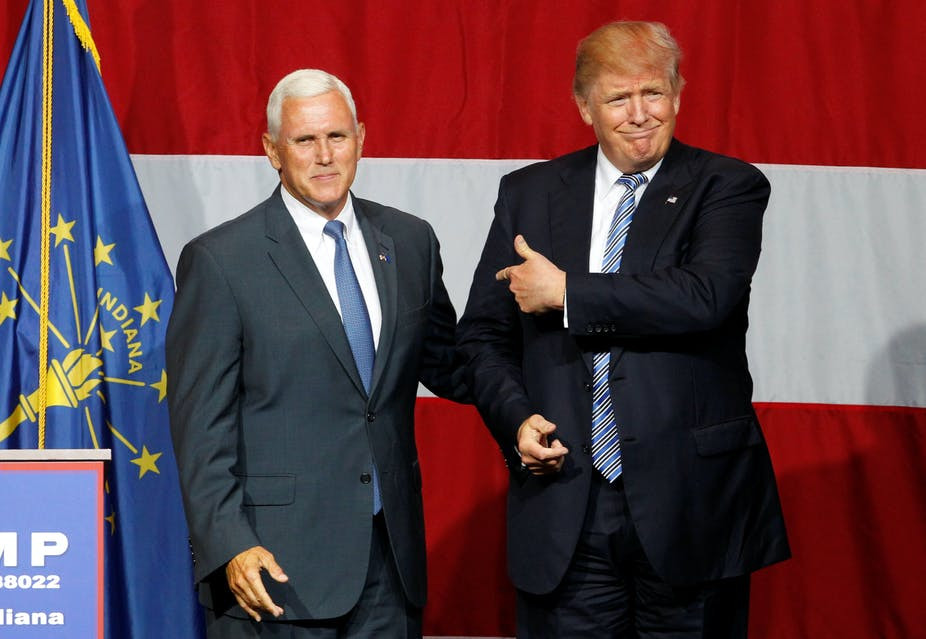 Mike Pence tells Trump he can