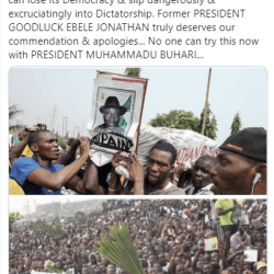 Dele Momodu compares GEJ's forgiving leadership vs Brutal Buhari's, says no one will go unpunished carrying Buhari's Coffin as with the former