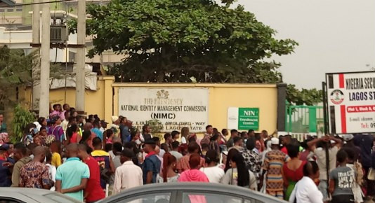 NIMC workers in Lagos embark on a strike action