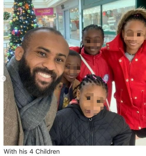 Pastor abandons wife and four kids in UK to marry another wife in Nigeria