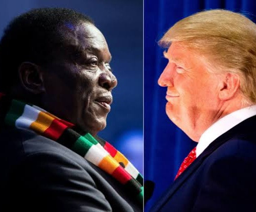 """5ff75f1236fef """"The U.S. has no moral right to punish another nation under the guise of upholding democracy"""" Zimbabwe President Emmerson Dambudzo Mnangagwa reacts to violence in US"""