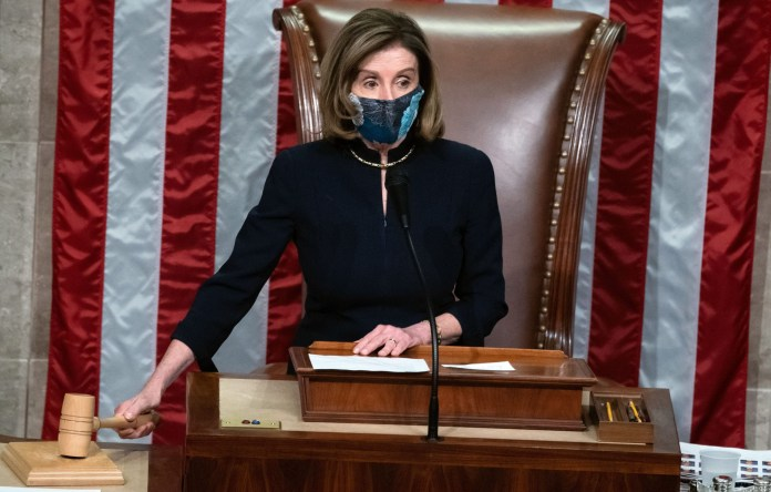 Nancy Pelosi wore same dress she donned for Trump
