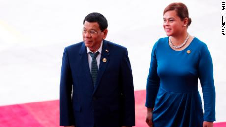 """Presidency is no job for a woman, the emotional setup of a woman and a man is totally different"""" - Philippines president Rodrigo Duterte says"""