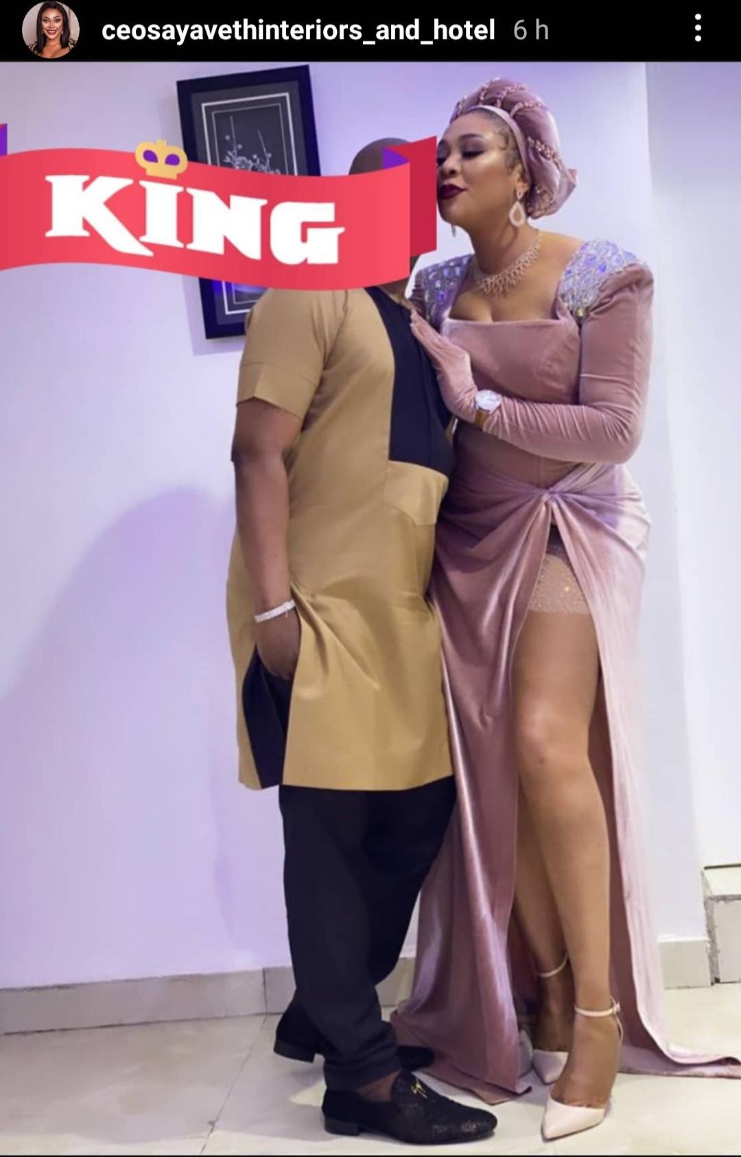 Interior designer, Ehi Ogbebor shows off her new man, MC Oluomo, on IG