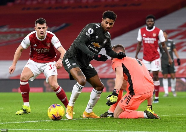Arsenal 0-0 Manchester United : Rivals share the spoils despite entertaining match