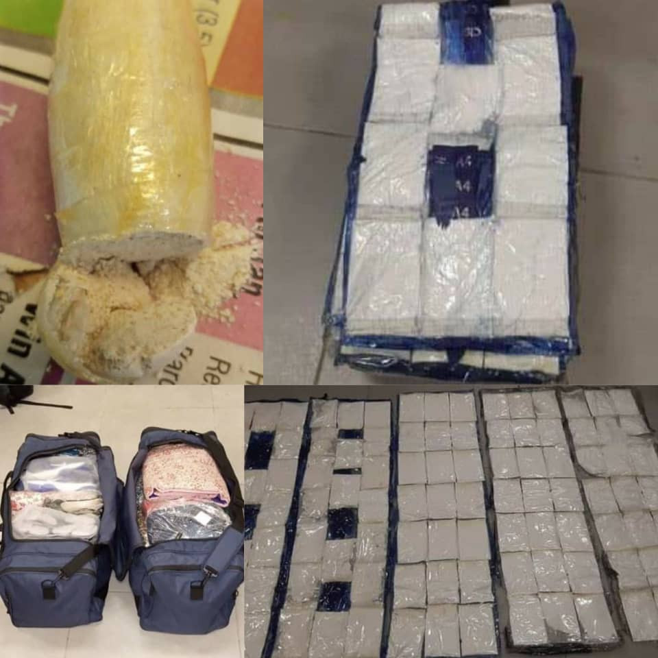 NDLEA seizes cocaine worth over N30billion at Lagos Airport (photos)