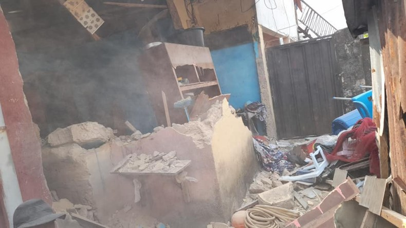 Cross River State Govt demolishes building belonging to suspected kidnapper and brothel housing underage girls for prostitution