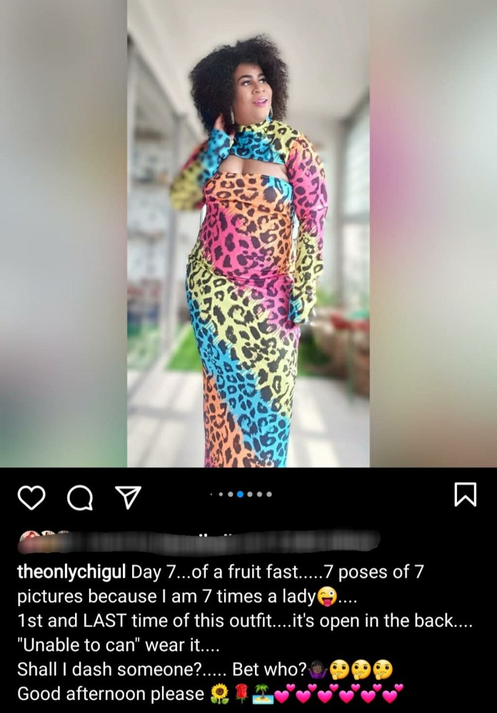 Chigul shows off incredible weightloss transformation (photos)