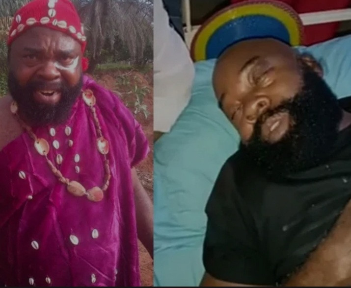 """""""I cannot carry it alone"""" Actor Prince Chukwuemeka Ani asks for financial help from hospital bed (video)"""