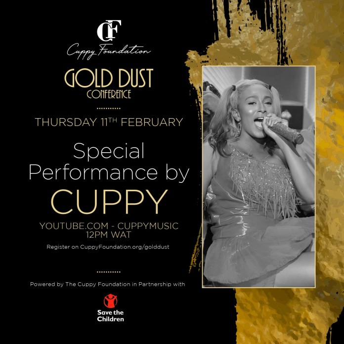 Cuppy announces first ever online conference, #CuppyGoldDust