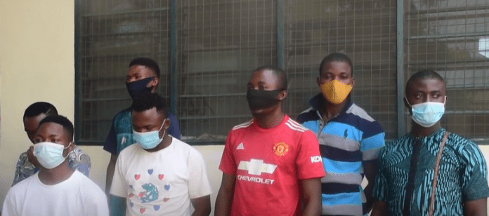 They see Ghana as fertile ground for Cyber fraud - Ghanaian Immigration service arrests 70 Nigerians for entering the country through illegal route (photos)