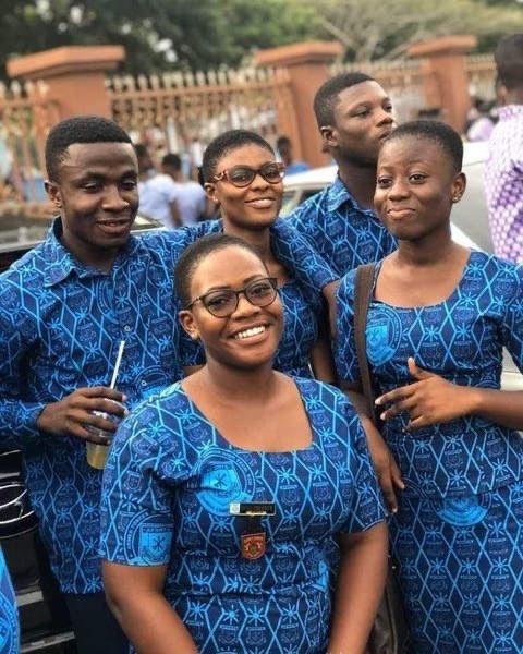 Ghana uniformes scolaires imprimés africains