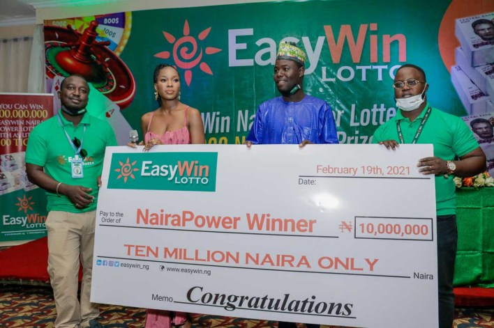 A trader in Bauchi state, Rabiu Ibrahim has become the winner of the first ever N10 million EasyWin lotto jackpot