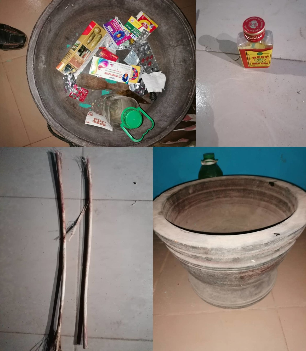 Bloodied children rescued from house filled with fetish items where they were locked up and abused by suspected female ritualists who own a ministry (video/photos)