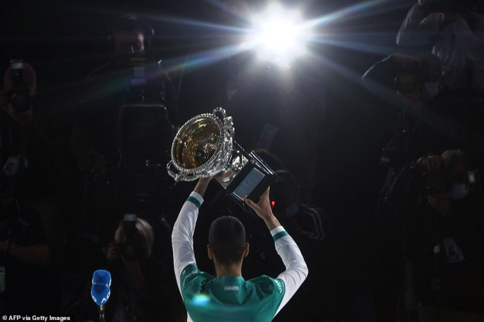 Novak Djokovic wins third straight Australian Open title in dominating display over Daniil Medvedev