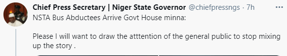 Niger state government dismisses report that Kagara students have been released