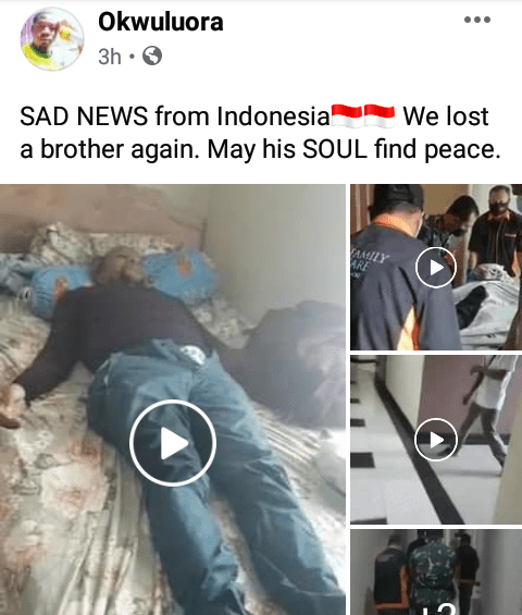 Nigerian man found dead in his apartment in Indonesia (video)