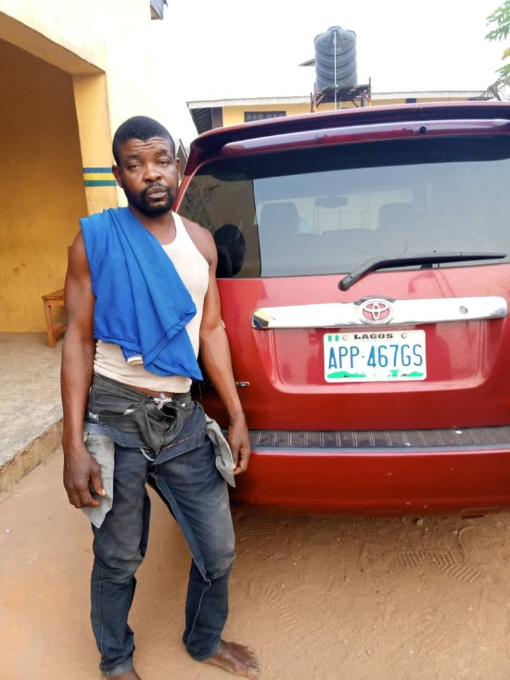 Driver arrested while allegedly fleeing with his boss
