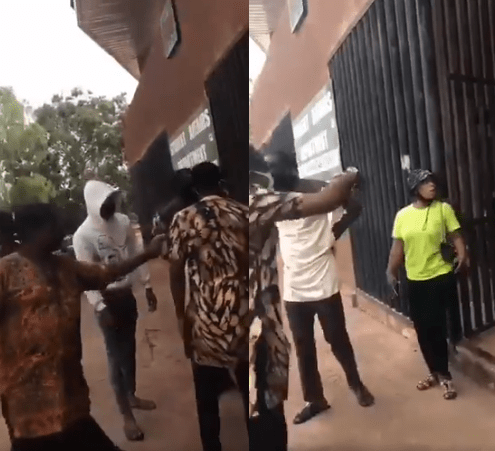 UNN student is allegedly harassed, stripped, verbally abused and made to kneel from 10am to 5pm by staff because of how she was dressed (video)