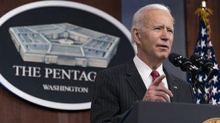 Joe Biden orders military air strikes in Syria against Iran backed militia