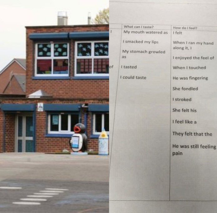Mum disgusted with homework that asked her 10-year-old daughter to write about