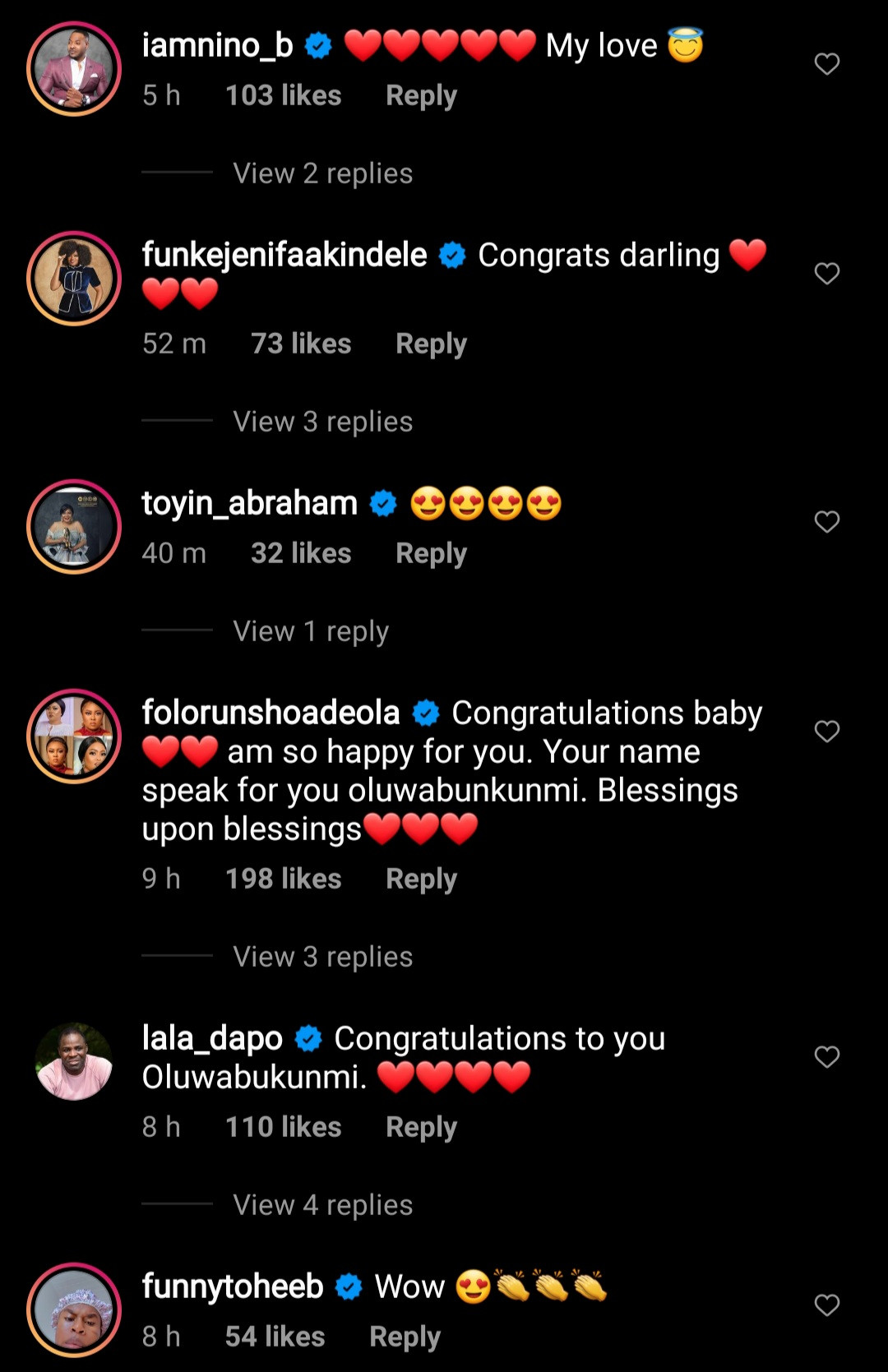 Congratulations pour in as actress Bukunmi Oluwasina shows off her baby bump months after her wedding