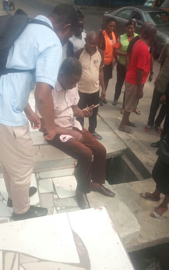 Man narrowly escapes death as speeding tipper rams into him in Rivers