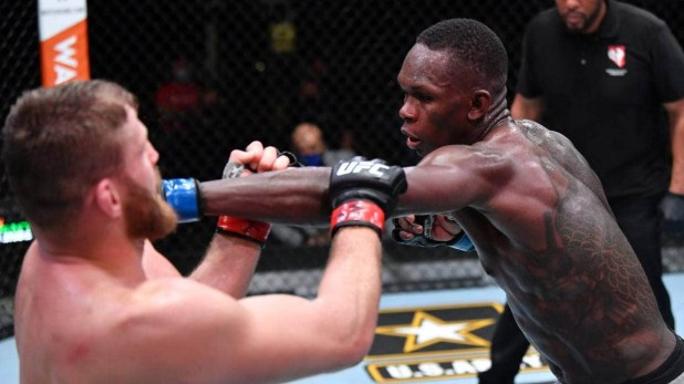 Nigerian MMA fighter, Israel Adesanya suffers his first career loss to Jan Blachowicz at UFC 259