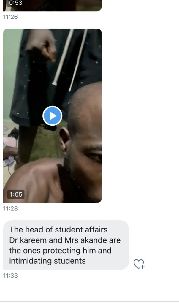 Alleged gay rapist nabbed at Crescent University in Ogun state (video)