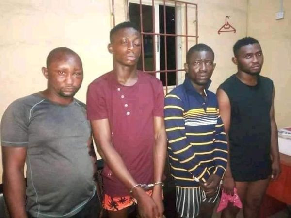 Abia Poly student, 5 others arrested over killing of 2 POS operators in Aba (photos)