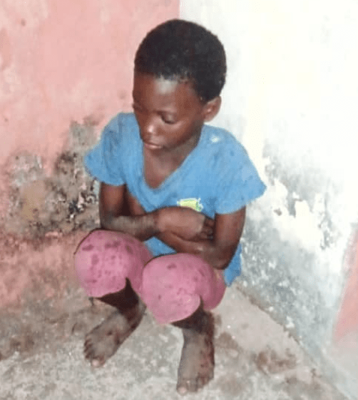 9-year-old orphan girl kicked out of the house by her
